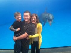 Its a photo bombing dolphin..... Well you don't see that every day