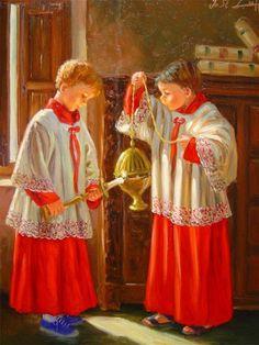 José Lull - (Monaguillos) Altar boys