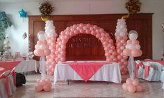 mesa de honor castillo rosa