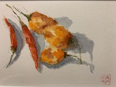 "Carole Rafferty on Instagram: ""#watercolorpainting #watercolorsketch #stilllifepainting #impressionism #paintingoftheday #artistsoninstagram #acuarela #acquarelle…"" Watercolor Sketch, Watercolor Paintings, Impressionism, Vegetables, Artist, Instagram, Watercolor Painting, Water Colors, Artists"