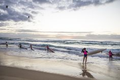 Sunrise paddle-out on the Gold Coast 2 by Robert McKenzie  on 500px