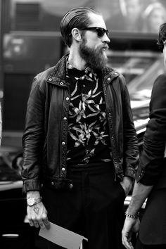 Love the beard.