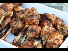 A tasty way to enjoy curry chicken on the grill. These curry chicken lollipops are marinated with exciting spices, including a wonderful Caribbean blend curr. Chicken Drums, Caribbean Recipes, Caribbean Food, Caribbean Cruise, Chicken Lollipops, Bbq Appetizers, Trini Food, Island Food, Jamaican Recipes