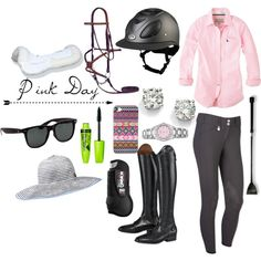 Pink Day, created by ez7za on Polyvore