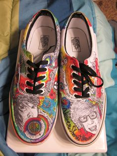 never shout never shoes. These are perfect. Converse, Vans, Pumped Up Kicks, My Music, Music Life, Band Merch, I Love Fashion, Wearable Art, Style Me