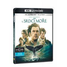 Blu-ray V srdci moře, UHD + BD, CZ dabing | Elpéčko - Predaj vinylových LP platní, hudobných CD a Blu-ray filmov Chris Hemsworth, Blues