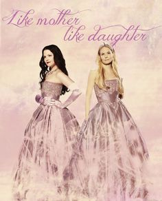 Once Upon A Time Snow White and Emma.Like mother, like daughter Abc Tv Shows, Movies And Tv Shows, Mother Daughter Relationships, Celebration Quotes, Jennifer Morrison, Captain Swan, Great Stories, Ouat, Reality Tv