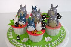 Celebrate with Cake!: Totoro Cupcakes