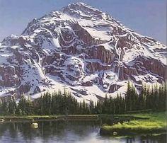 La montagne animaux.