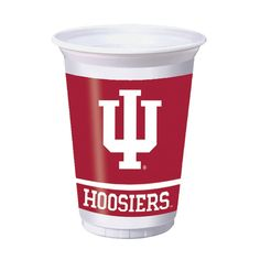 20 oz Printed Plastic Cups Indiana University/Case of 96 Tags: Indiana University; Cups; Collegiate; Indiana University Cups;Indiana University party tableware; https://www.ktsupply.com/products/32786324688/20-oz-Printed-Plastic-Cups-Indiana-UniversityCase-of-96.html