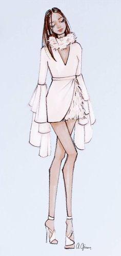by Gizem Kazancıgil | ☀ Fashion Illustrations ☀ | Pinterest ...