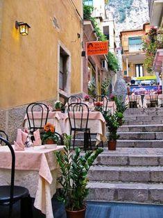 Salita Lucio Denti, Taormina, Sicily, Italy