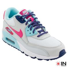 #Nike Air Max 90 Mesh GS Tamanhos: 35.5 a 38.5  #Sneakers mais informações: http://www.inmocion.net/Nike-Air-Max-90-Mesh-GS-724855-99-pt?utm_source=pinterest&utm_medium=724855-99_Nike_p&utm_campaign=Nike