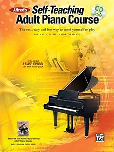 Shop and Buy Alfred's Self-Teaching Adult Piano Course sheet music. Alfred's Self-Teaching sheet music book by Willard A. Palmer and Morton Manus. Browse Alfred Music from Alfred Music at Sheet Music Plus: The World Largest Selection of Sheet Music. Free Piano Lessons, Music Lessons, Violin Lessons, Art Lessons, Piano Classes, Best Piano, Keyboard Piano, Music Page, Piano Teaching