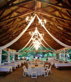 Outdoor wedding at Twin Creeks Lake Pavilion