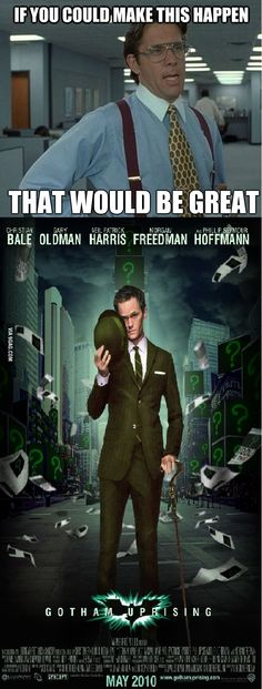 This needs to happen! Neil Patrick Harris as THE RIDDLER