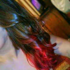 Dark Brown To Bright Red Ombre Brown To Red Ombre Ombre
