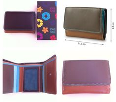 Idee regalo// Il portafoglio in pelle multicolor DuDu Bags, pratico e compatto | Look and the city