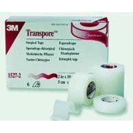 """3M Transpore Tape 2"""" x 10 yd Box: 6 by 3M. $13.49. Transparent, water-resistant, perforated plastic tape with easy, bi-directional tear, even when wearing gloves. For securing tubing, dressings and devices. Hypoallergenic and Latex-free. Features: ? Transparent ? Water-Resistant ? Perforated ? Bi-Directional Tear ? Hypoallergenic ? Latex-free"""