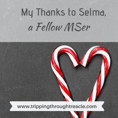 My Thanks to Selma, a Fellow MSer - Tripping Through Treacle When Youre Feeling Down, Selma Blair, Disease Symptoms, Relapse, Candy Canes, Inspiring People, I Feel Good, Chronic Illness, Motivation Inspiration