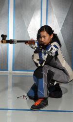 Congrats to UK rifle star Sonya May as she claimed the USA Shooting Junior Air Rifle National Title!