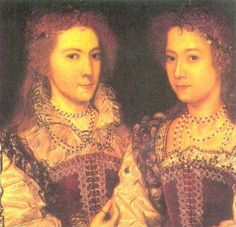Sisters Deveroux daughters of Leticia Knollys& 1.KG Robert Deveroux /Penelope Lady Rich Css.Devonshire *1563+1607 & Robert 3rd Baron Rich &Charles Blount 1.Earl Devonshire/Dorothy *1564+1619 & KG Henry Percy, 9th Earl of Northumberland/ daughters of Lettice Knollys, Countess of Essex Datecirca 1581 Sourcehttp://thepeerage.com/e4360.htm AuthorUnknown