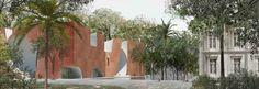 steven holl mumbai city museum new wing india designboom