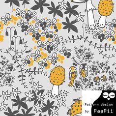 PaaPii Design - Sammalpolku jersey, harmaa
