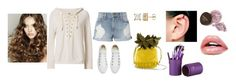 """""""Geen titel #354"""" by mveltmuisenco on Polyvore featuring mode, Frame, NSF en Converse"""