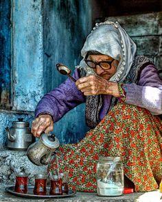 Start your day with a nice Turkish çay (tea) / by enesbayraktar85  #Demirci #Manisa #Turkey