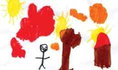 TUESDAY'S WEATHER: Widespread haze, warming to 36. Wyatt Butcher, age 6, of Plains created today's weather picture. Weather art from Montana kids runs every day in the Missoulian.