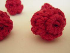 Crochet Raspberries