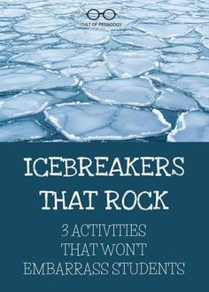 Icebreakers that Rock Icebreakers that Rock Allie Dirks Save Images Allie Dirks These 3 icebreaker activities help students get to know each other wit… – Preteen Middle School Classroom, 1st Day Of School, Beginning Of The School Year, High School, Classroom Icebreakers, Icebreaker Activities, Leadership Activities, Group Activities, Science Classroom