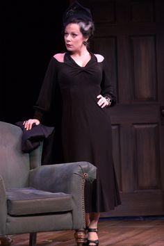 Angela Ingersoll in The 39 Steps at Drury Lane Oakbrook, http://www.drurylaneoakbrook.com/