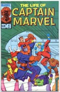 The Life of Captain Marvel 4- Jim Starlin