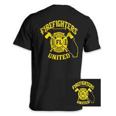 Make this awesome proud Firefighter: Florida Firefighters as a great gift Shirts T-Shirts for Firefighters
