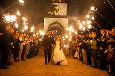 <p> What could be better than bright lights and sparklers to celebrate your big day? You do need to be sure that you use the sparklers for outdoor use only, although they are smokeless sparklers.</p> <p> The wedding hearts sparklers bundle includes 160 sparklers. This is more than enough to wow your guests at your wedding reception.</p> <p> With the...