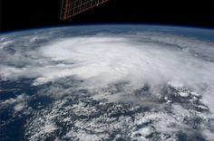 Hurricane Raymond.  Taken October 22, 2013.  KN from space.
