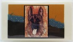German Shephard Checkbook Made in the USA #713 by Jades Menagerie. $13.00. Original artprint, with embossed paper and linen paper was used to create this design encased in our custom vinyl covers Embossed Paper, Vinyl Cover, Custom Vinyl, Women Accessories, German, Art Prints, Usa, Create, Clothing