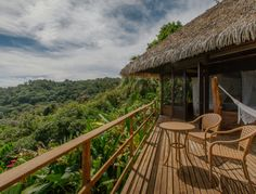 Lapa Rios Eco Lodge Corcovado, Costa Rica. Set in a private nature reserve spread over 1,000 acres of Central America's last remaining lowland tropical rainforest in the wild Osa Peninsula, Lapa Rios is paradise for wildlife, nature and beach lovers. 17 private bungalows.