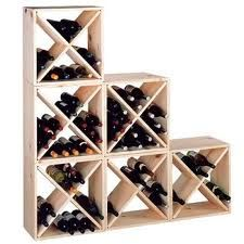 The Country Pine Series Storage Cube is affordable, sturdy, stackable and expandable. This wine storage cube is made of pine, which is best known for.