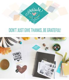 Gratitude Documented with Shanna Noel @studio_calico -  Shanna Noel will guide you through a series of prompts, videos, and more so that recording the seasons of gratitude from your life will be easy and enjoyable.