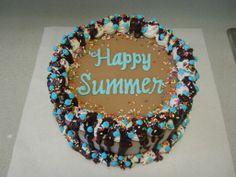 Homemade Ice Cream Cake Recipe..
