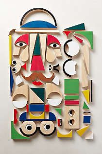 Anthropologie - Dimensional Play Shapes