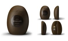 Bookcafe Blend Ground Coffee on Packaging of the World - Creative Package Design Gallery