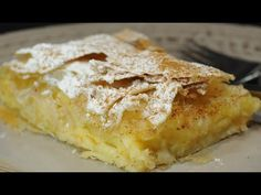 Cookbook Recipes, Cooking Recipes, Greek Sweets, Happy Foods, Greek Recipes, Apple Pie, Sweet Home, Food And Drink, Yummy Food