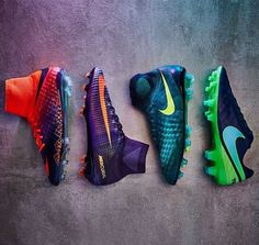 New Nike football collection #Hypervenom #Mercurial #Magista #Tiempo