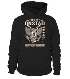 It's an ONSTAD Thing, You Wouldn't Understand