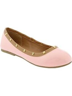 Girls Patent-Leather Flats