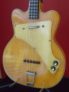 RARE 50's Vintage Kay Jazz Special Electric Bass Guitar | eBay